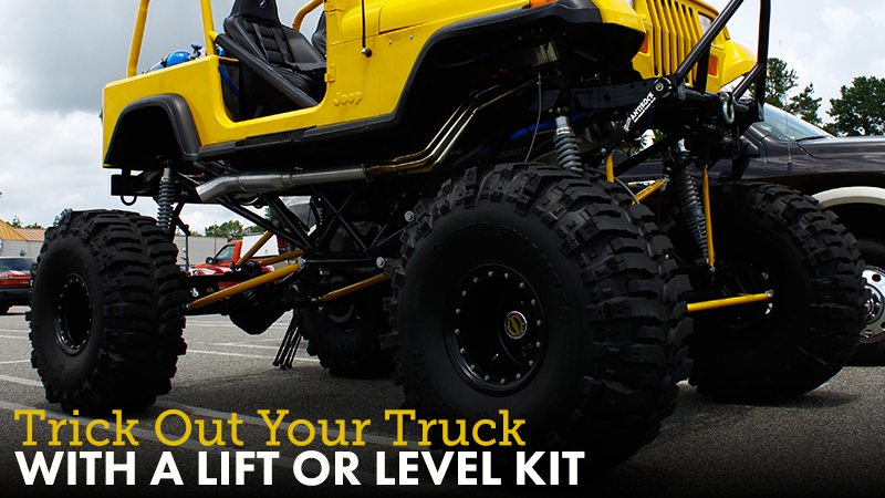 Trick Out Your Truck With a Lift or Level Kit