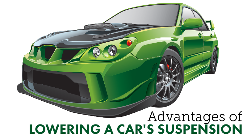 What are the Advantages of Lowering a Car's Suspension?